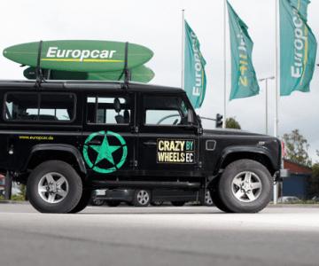 Europcar 15% Rabatt auf Mietwagen, LKW und Transporter