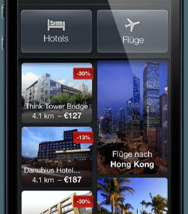 Expedia Gutschein 10% Rabatt auf Hotels bei Buchung über App